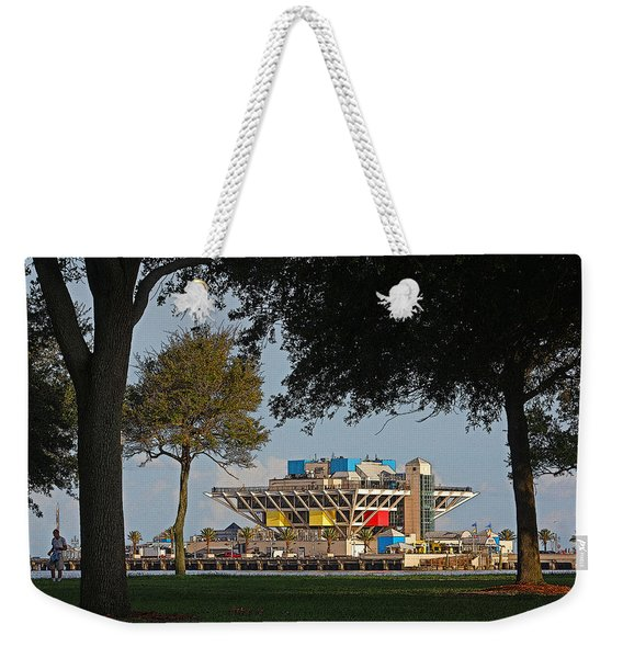 The Pier - St. Petersburg Fl Weekender Tote Bag
