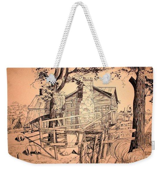The Pig Sty Weekender Tote Bag