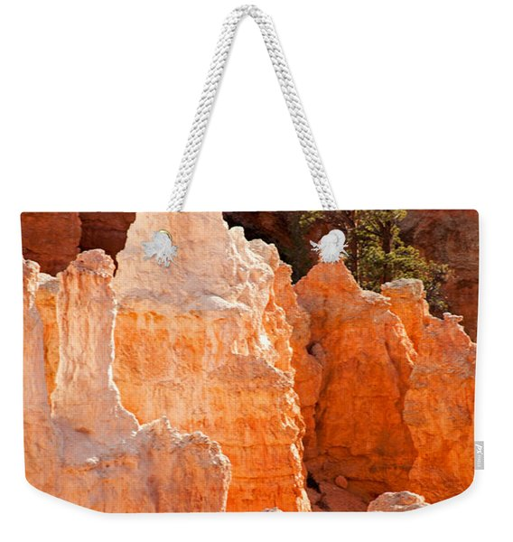The Pope Sunrise Point Bryce Canyon National Park Weekender Tote Bag