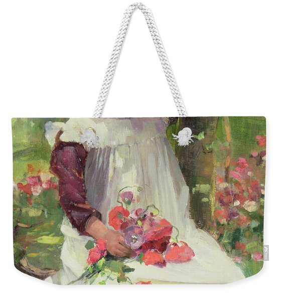 The Poppy Gatherer Weekender Tote Bag