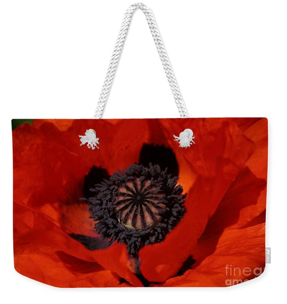 The Poppy Is Also A Flower Weekender Tote Bag