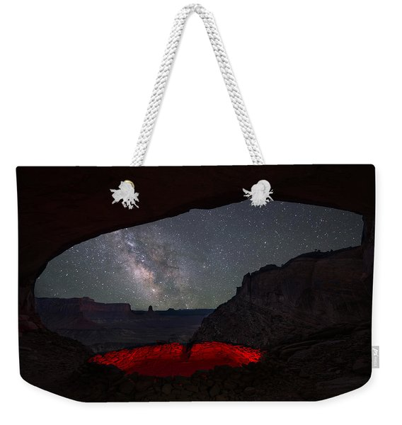 The Portal Weekender Tote Bag