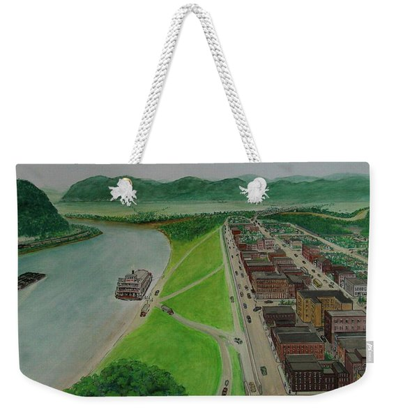 The Portsmouth Ohio Boneyfiddle District 1948 Weekender Tote Bag