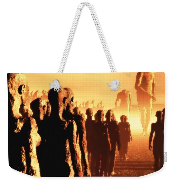 The Post Apocalyptic Gods Weekender Tote Bag