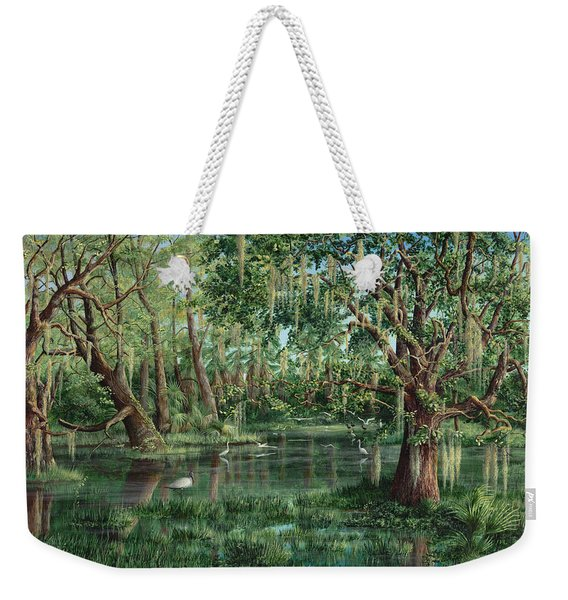 The Preacher And His Flock Weekender Tote Bag