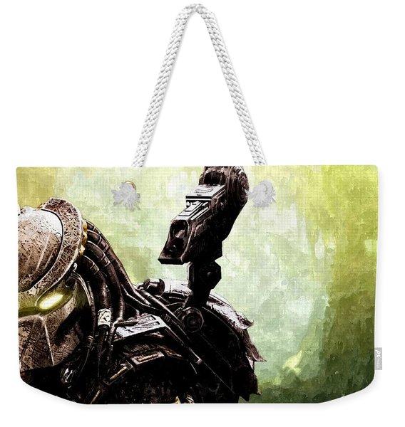 The Predator Weekender Tote Bag