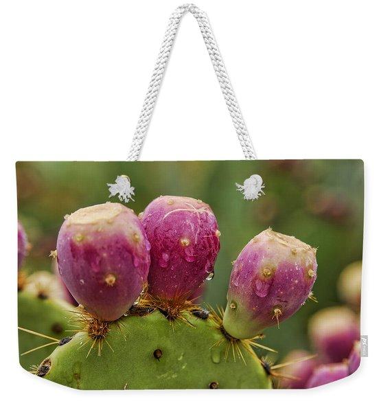 The Prickly Pear  Weekender Tote Bag