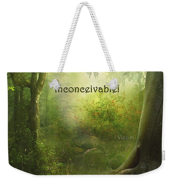 The Princess Bride - Inconceivable Weekender Tote Bag