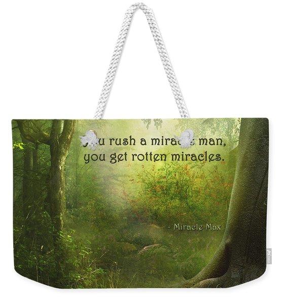 The Princess Bride - Rotten Miracles Weekender Tote Bag