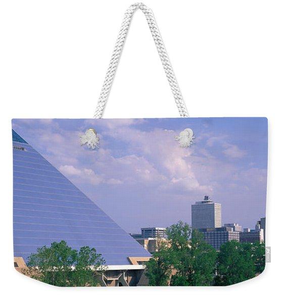 The Pyramid Memphis Tn Weekender Tote Bag