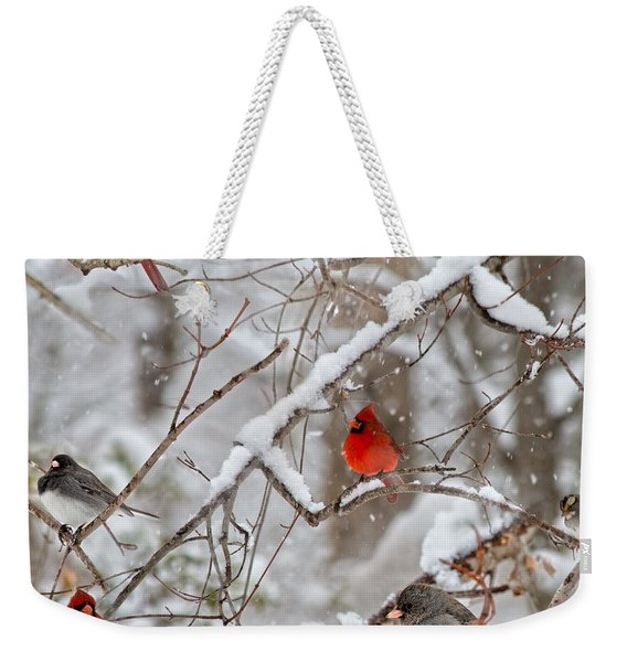 The Quiet Within The Forest Weekender Tote Bag