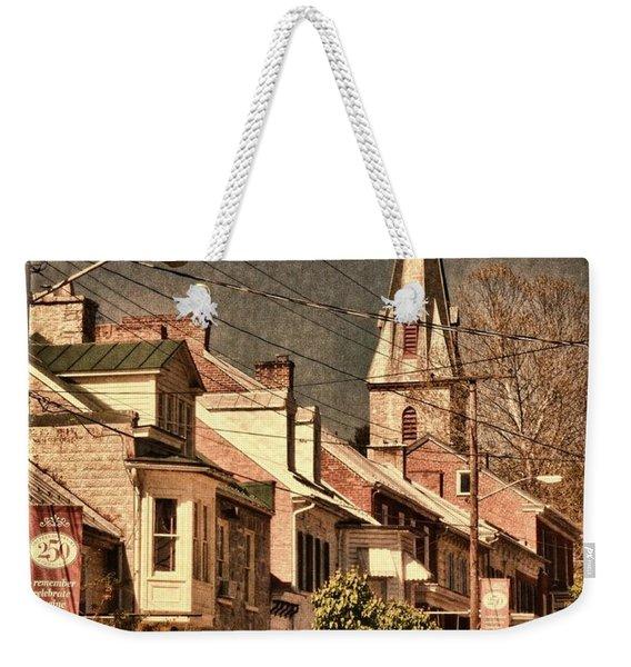 The Quintessential Semiquincentennial - Shepherdstown Wv  Weekender Tote Bag