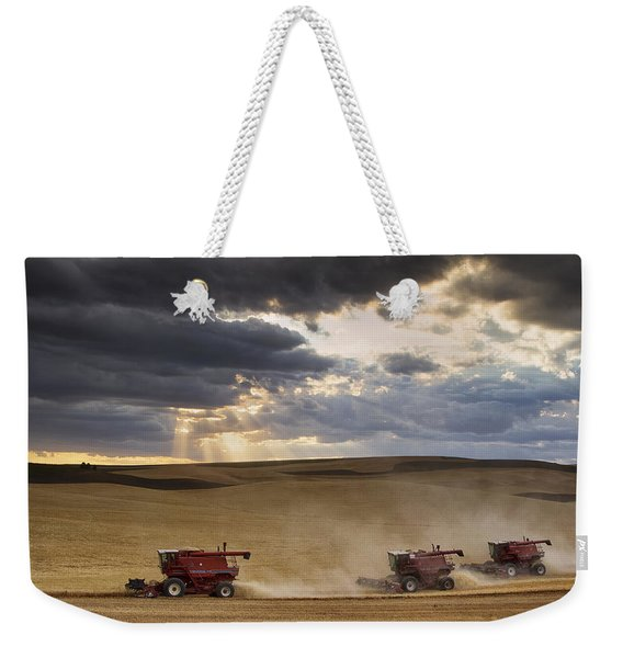 The Race To Finish Weekender Tote Bag