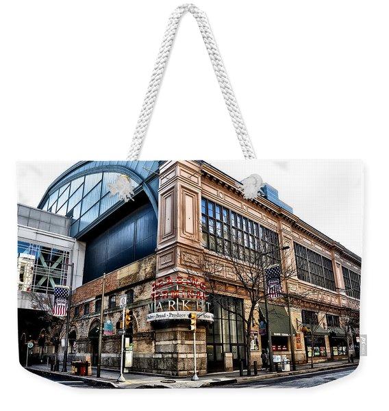 The Reading Terminal Market Weekender Tote Bag