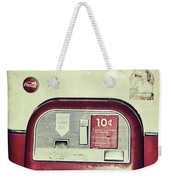 The Real Thing Weekender Tote Bag