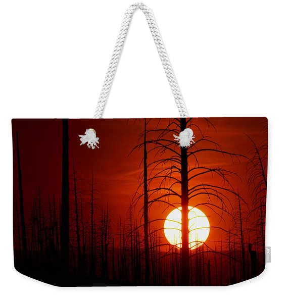 The Red Planet Weekender Tote Bag