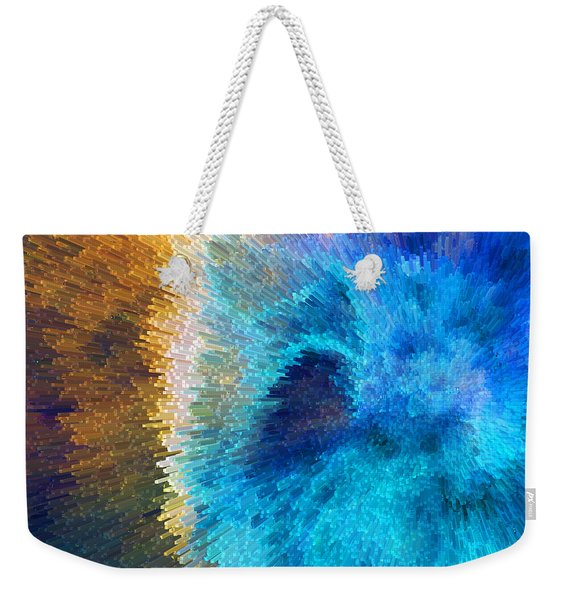 The Right Direction - Abstract Art By Sharon Cummings Weekender Tote Bag