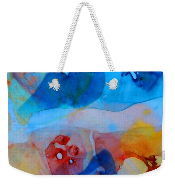 The Right Path - Colorful Abstract Art By Sharon Cummings Weekender Tote Bag