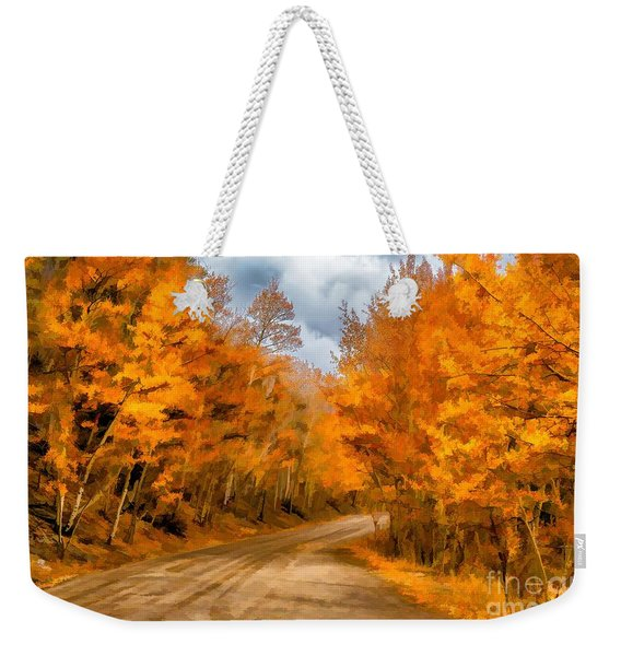 The Road Less Traveled Weekender Tote Bag