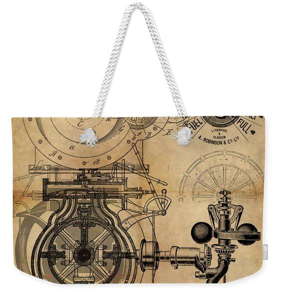 The Rotary Engine Weekender Tote Bag