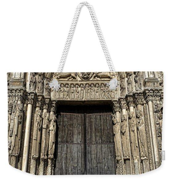 The Royal Portal At Chartres Weekender Tote Bag