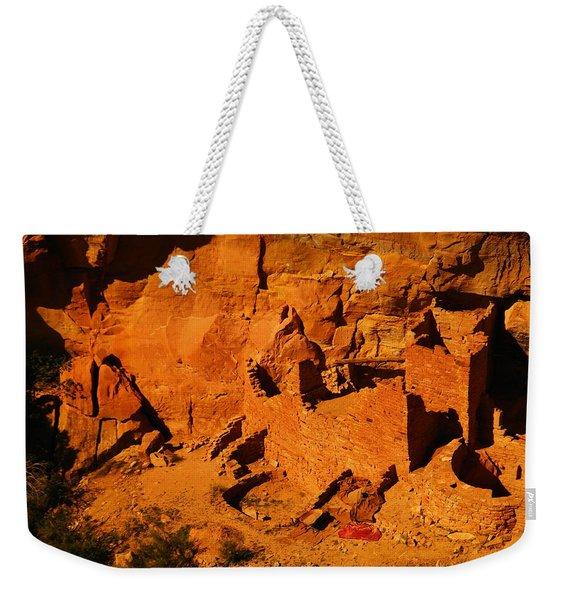 The Ruins In Rock At Mesa Verde Weekender Tote Bag