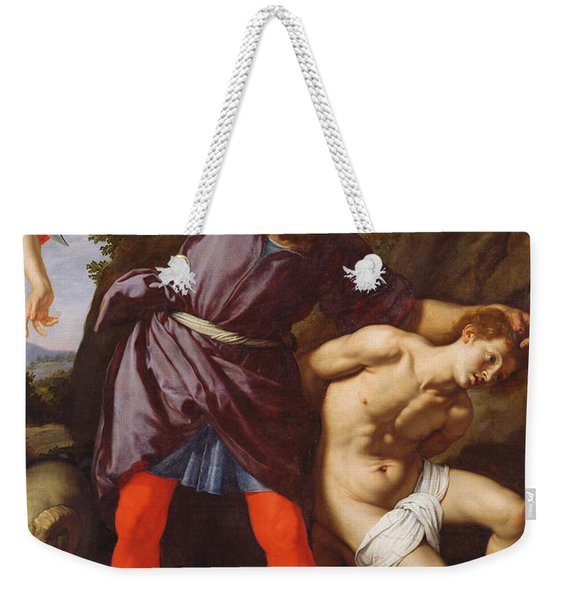 The Sacrifice Of Abraham Weekender Tote Bag