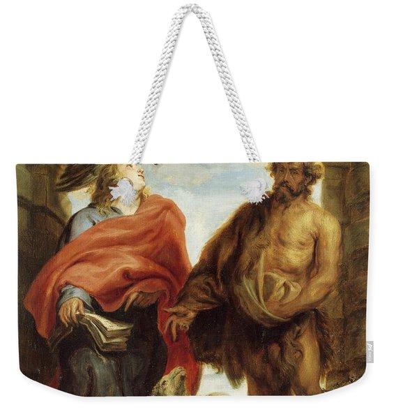 The Saints Weekender Tote Bag