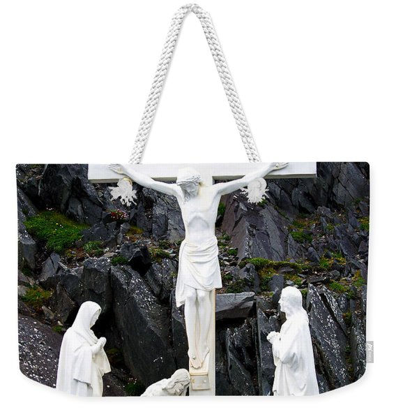 The Savior Weekender Tote Bag