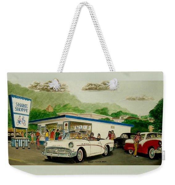 The Shake Shoppe Portsmouth Ohio 1960 Weekender Tote Bag