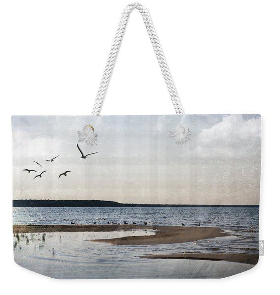 The Shallows At Whitefish Bay Weekender Tote Bag