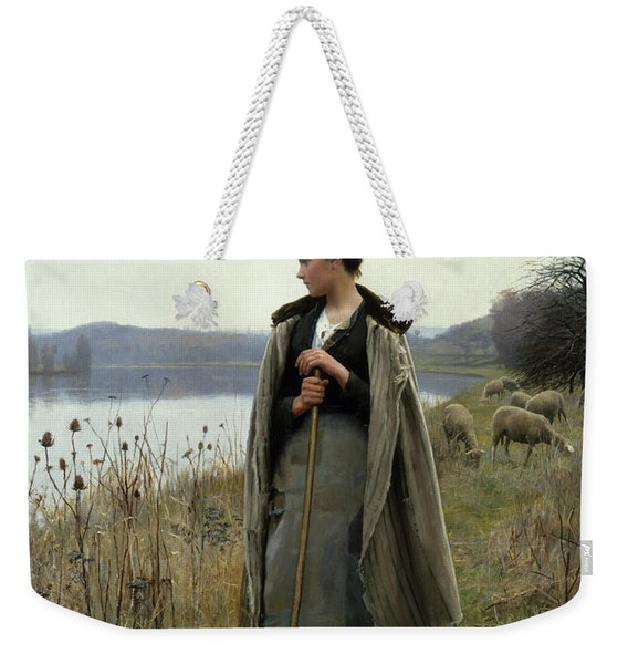 The Shepherdess Of Rolleboise Weekender Tote Bag