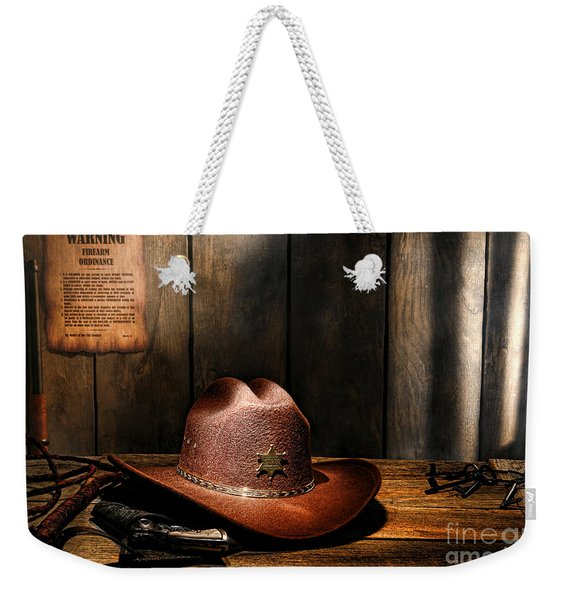 The Sheriff Office Weekender Tote Bag