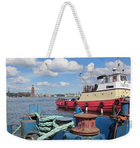 The Shipyard Weekender Tote Bag