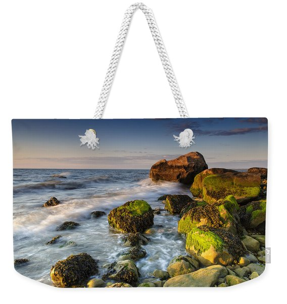 The Shore Of The Sound Weekender Tote Bag
