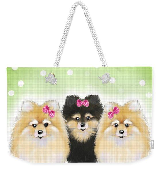 The Sisters Weekender Tote Bag