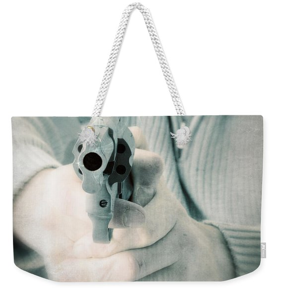 The Smoking Gun Weekender Tote Bag