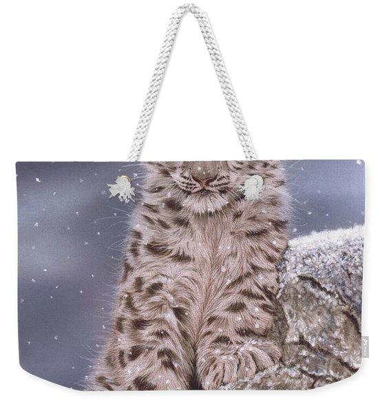 The Snow Prince Weekender Tote Bag