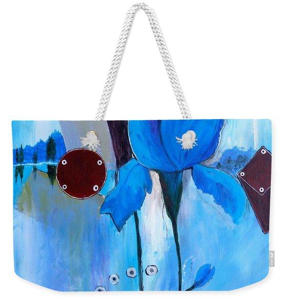 The Sound Of Blue Weekender Tote Bag