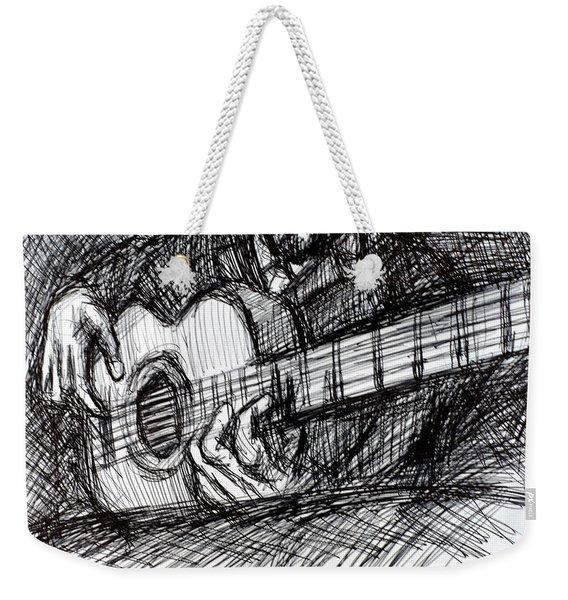The Spanish Guitarist Weekender Tote Bag