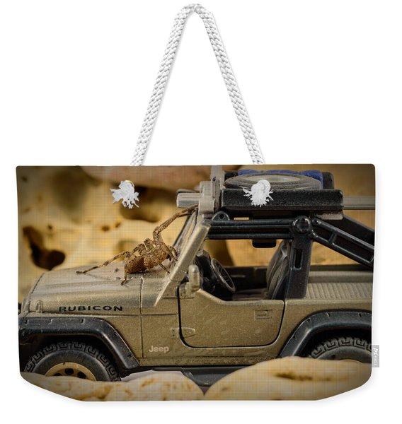 The Spider Series II Weekender Tote Bag