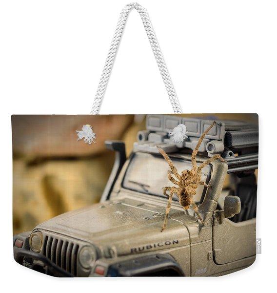 The Spider Series IIi Weekender Tote Bag