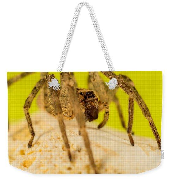 The Spider Series Iv Weekender Tote Bag