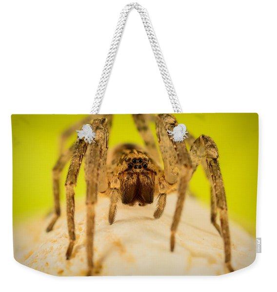 The Spider Series V Weekender Tote Bag