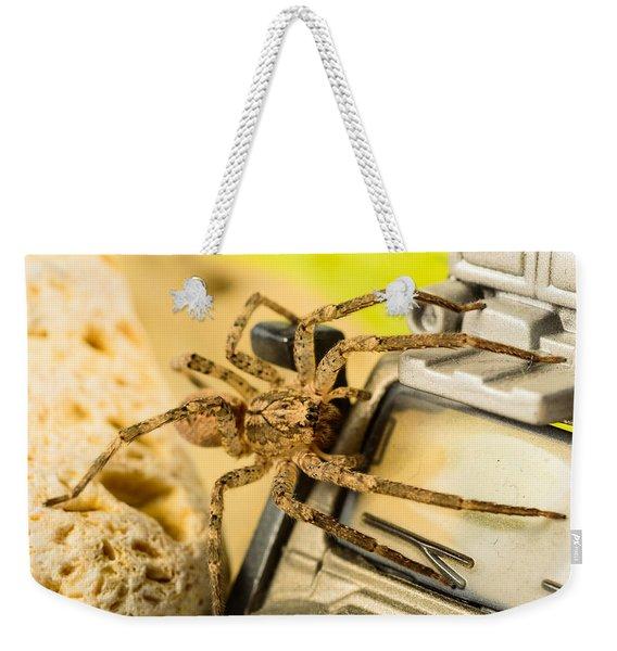 The Spider Series Vii Weekender Tote Bag