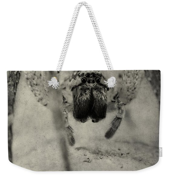 The Spider Series Xii Weekender Tote Bag