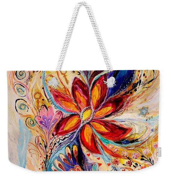 The Splash Of Life 5 Weekender Tote Bag