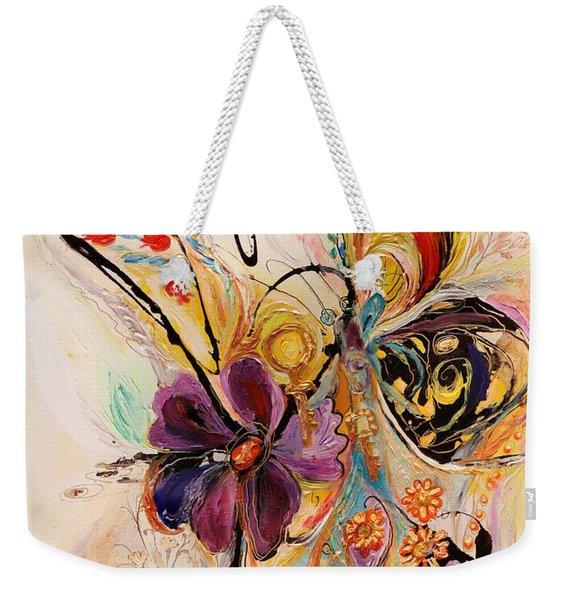 The Splash Of Life Series No 2 Weekender Tote Bag