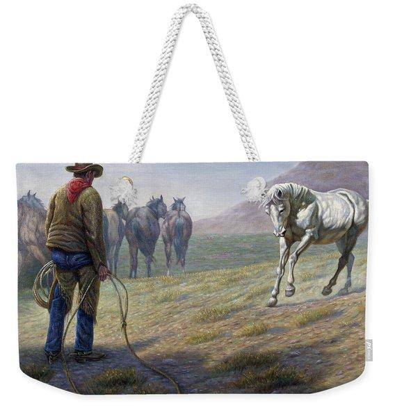 The Standoff Weekender Tote Bag