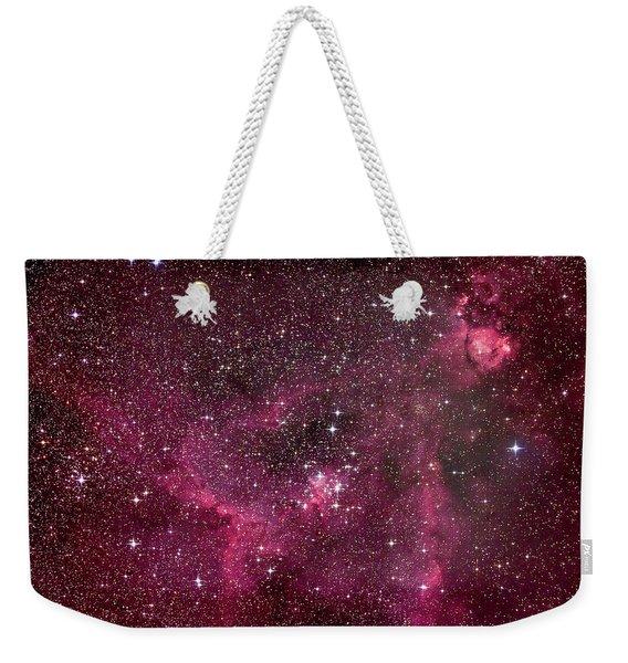 The Star-filled Heart Nebula Weekender Tote Bag